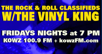 The Rock & Roll Classifieds with the Vinyl King