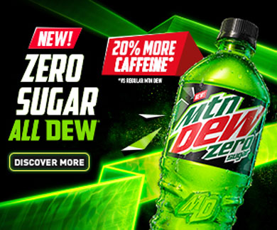 Mountain Dew Zero Sugar