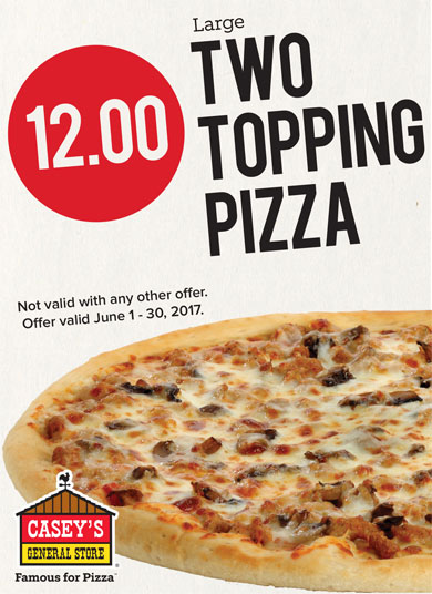 Casey's Monthly Pizza Deal