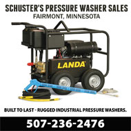 Schuster's Pressure Washer Sales